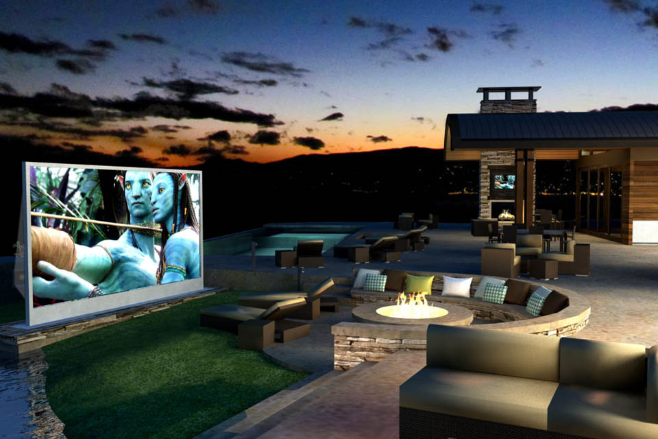 How to build the perfect Outdoor Home Cinema