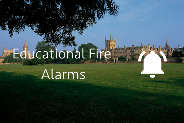 Educational fire alarm