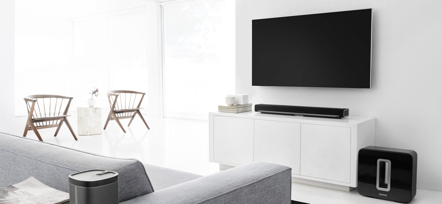 Surround yourself in music with Sonos