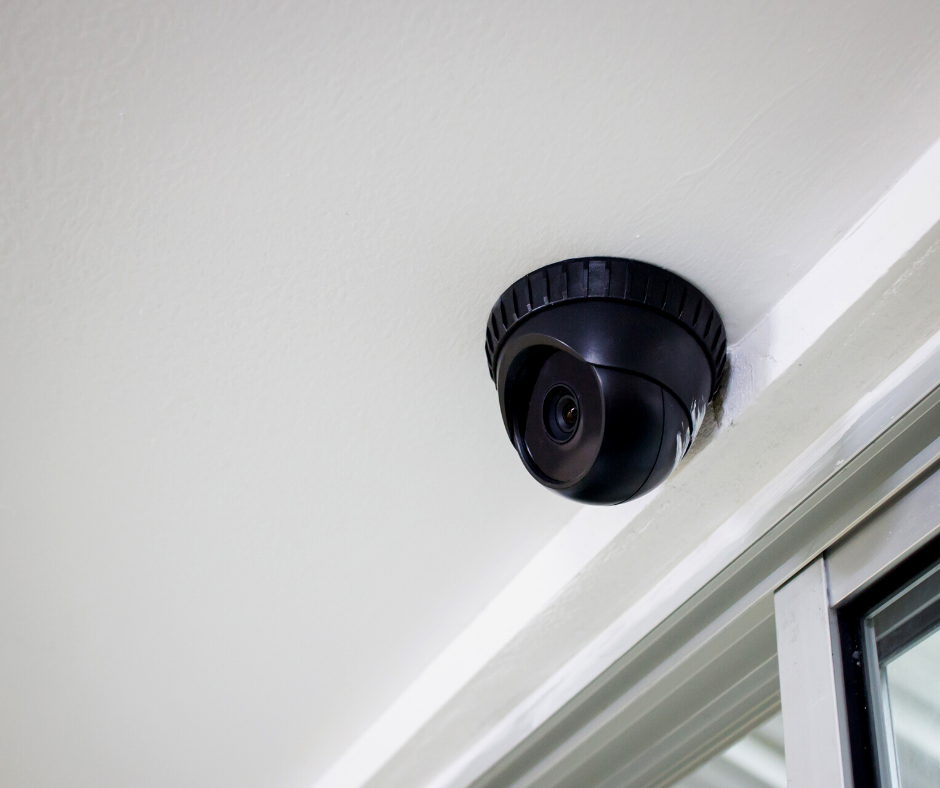 Business safe with HD CCTV