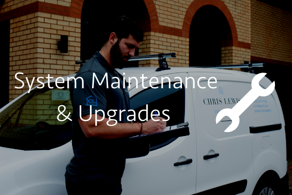 System Maintenance & Upgrades