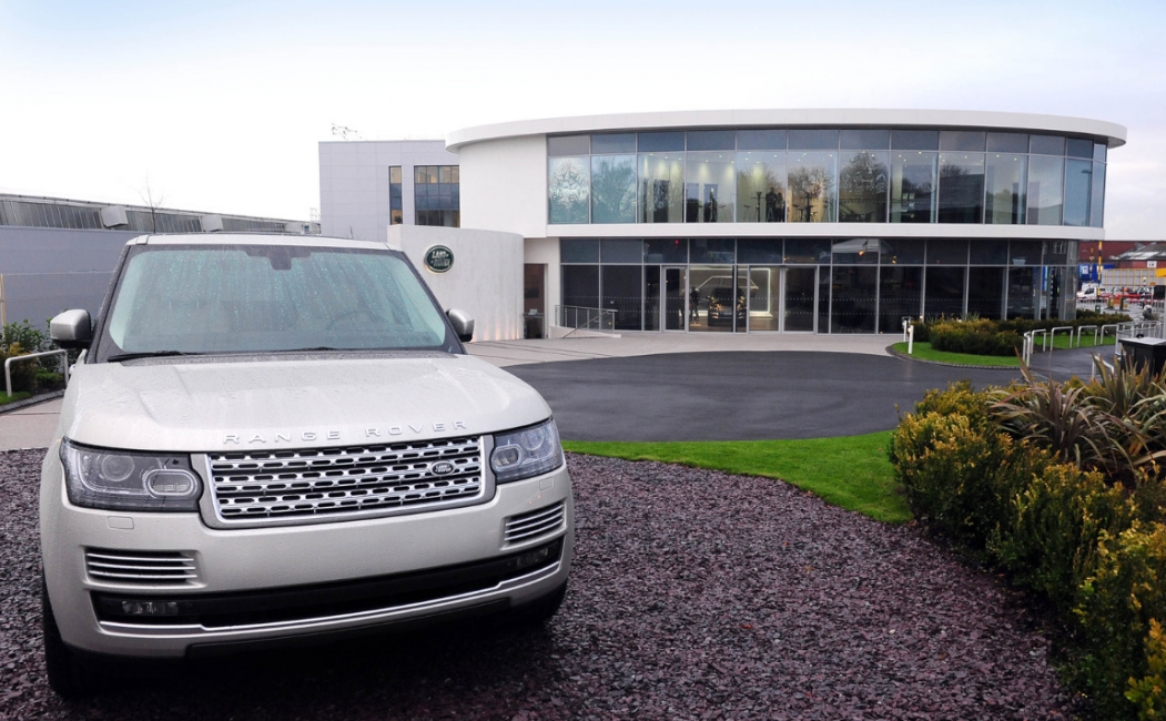 Jaguar Land Rover Handover Centre