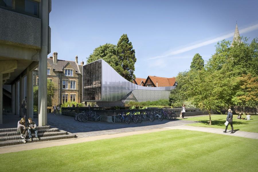 saint antonys college building design zha
