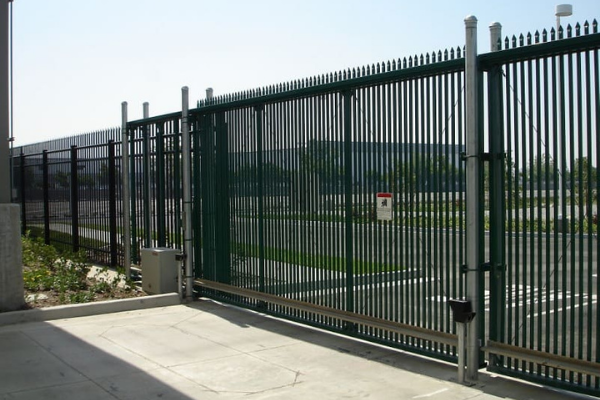 Commercial gates- Chris Lewis