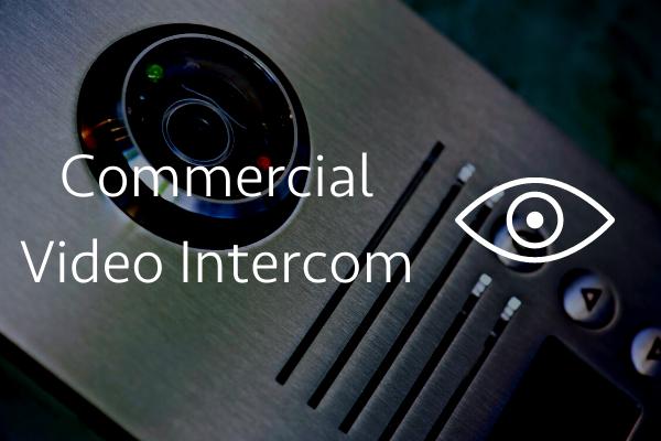 Commercial video intercom