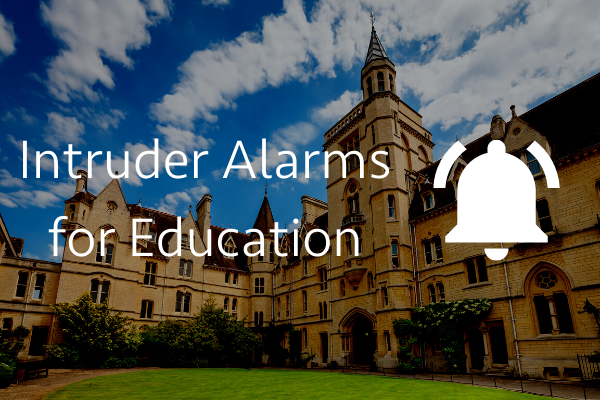 Intruder alarms for education