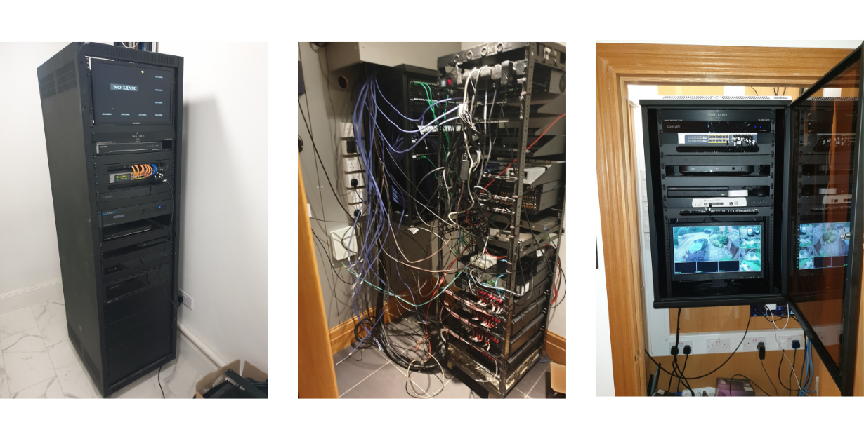 Rack redressing- Smart Home