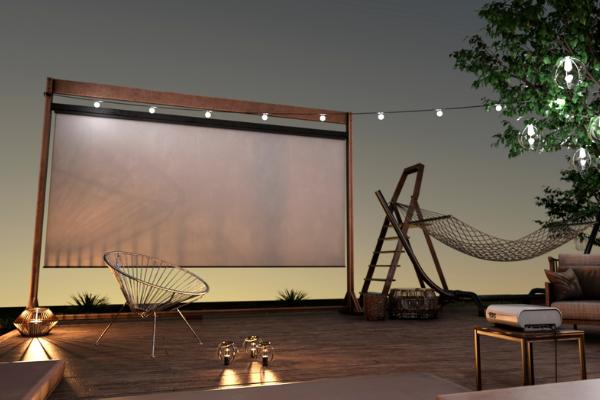 smart outdoor cinema